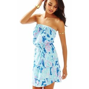 Lilly Pulitzer into the deep Windsor dress M